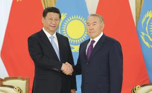 习近平离京对哈萨克斯坦共和国进行国事访问