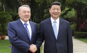 大外交|习近平四年三访哈萨克斯坦,经济是双方合作有力支点