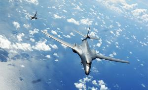 美太司令部称两架美军战略轰炸机飞越南海,上月美舰曾擅闯