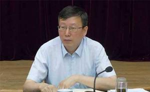 新任甘肃省委常委王嘉毅兼任省委秘书长