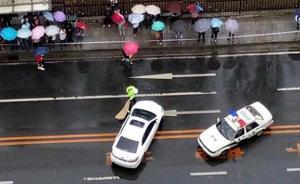 大连一轿车违法被查与警用摩托刮撞,男子造谣侮辱交警后投案
