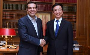 韩正率团访问希腊,推动上海与一带一路沿线重要国家希腊合作