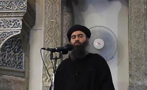"""俄军称""""伊斯兰国""""最高头目或已消灭,国际联军说还不能证实"""