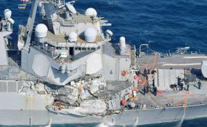 释新闻丨美菲撞船后宙斯盾舰几近瘫痪,驱逐舰为何撞不过商船