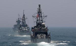 卡塔尔与美海军联合演习,有媒体称系释放美仍支持卡塔尔信号