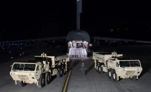 """文在寅表示萨德部署""""神秘""""加速,已有2架发射台部署"""