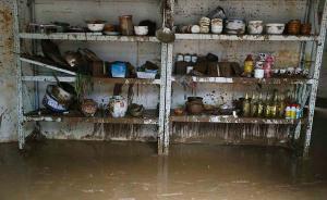 直击 | 江西修水:洪水消退受灾群众清淤清洁恢复生产