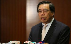 香港特区立法会主席梁君彦:香港走在正确的方向上