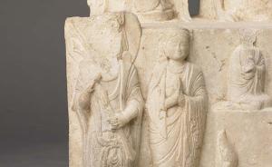 上海博物馆新展出五件佛教石刻造像,展期2年