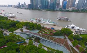 浦江两岸美景尽收眼底,上海虹口滨江月底贯通7月1日开放