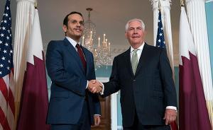 沙特卡塔尔外长同访美均不让步,美国表态矛盾红脸白脸一起唱