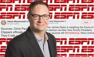 """NBA记者圈上演杜兰特式转会,""""沃神""""是怎样的神奇存在"""