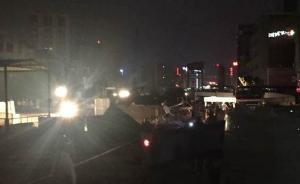 广东莞惠城轨东莞常平段地陷:3栋民房坍塌,暂无人员伤亡