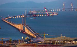 港珠澳大桥主体贯通,年底具备通车条件