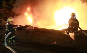疲劳驾驶两车相撞起火,消防救出两人