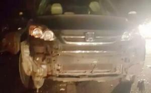 撞伤3名江西扶贫干部肇事者涉嫌事故逃逸,已被行政拘留