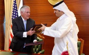 美国与卡塔尔签署反恐协议,沙特等四国声明:还要看行动