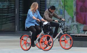 中国共享单车登陆英国曼城受热捧,伦敦同类项目耗六千万英镑