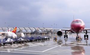 成都机场受昨日雷阵雨影响引发连锁反应,今日航班突破千架次