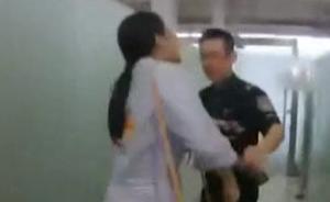 带无标充电宝登机受阻,女子踢打安检员