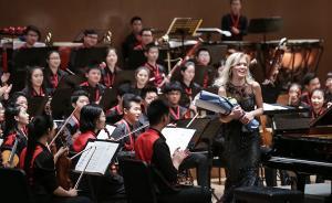 """中华青少年交响乐团的少年们高分通过了这场""""音乐考试"""""""