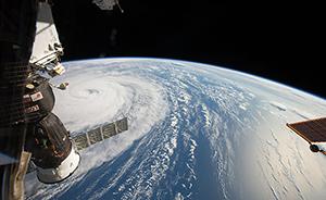 """早安,全世界都在看↑宇航员拍""""奥鹿"""",超长寿台风还在待机"""