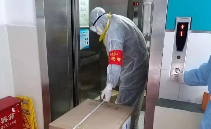 """南开学子雕刻橡皮章作品为战""""疫""""加油"""