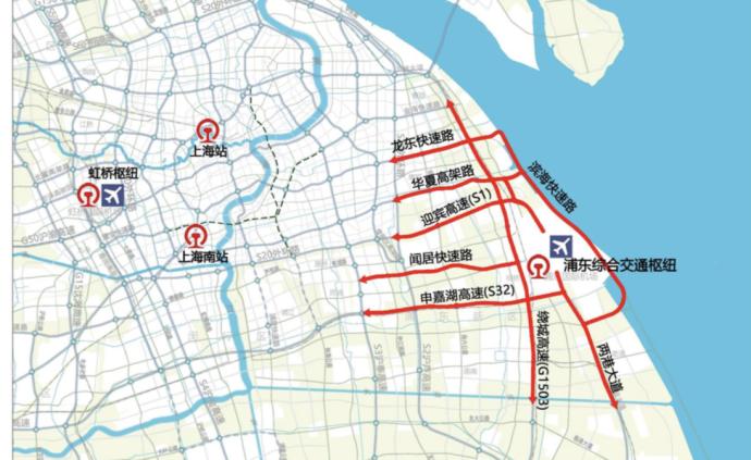 臨港新片區軌交線規劃連接上海東站和浦東機場T3航站樓