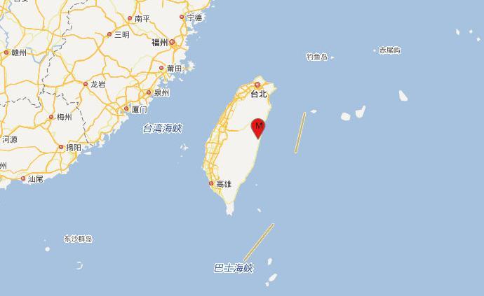 臺灣花蓮縣發生二次地震:4.7級,震源深度10千米