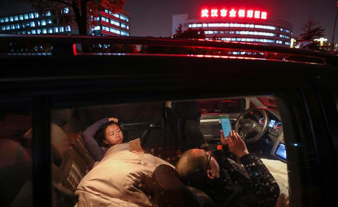 全民战疫 武汉金银潭医院:医护夫妻以车为家的第23天