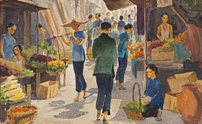 圖遡|疫病之下,香港菜市場轉型的啟示