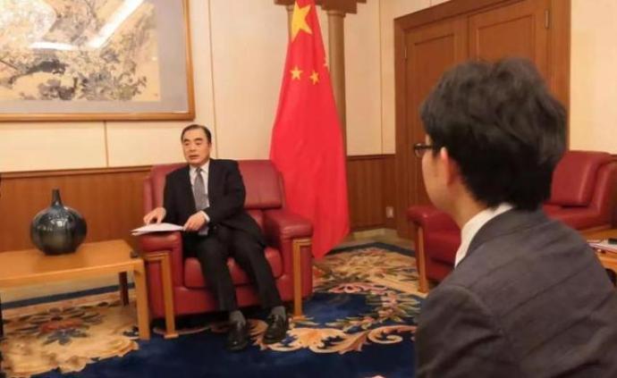 中國駐日本大使孔鉉佑:中方愿與日方加強合作攜手抗疫