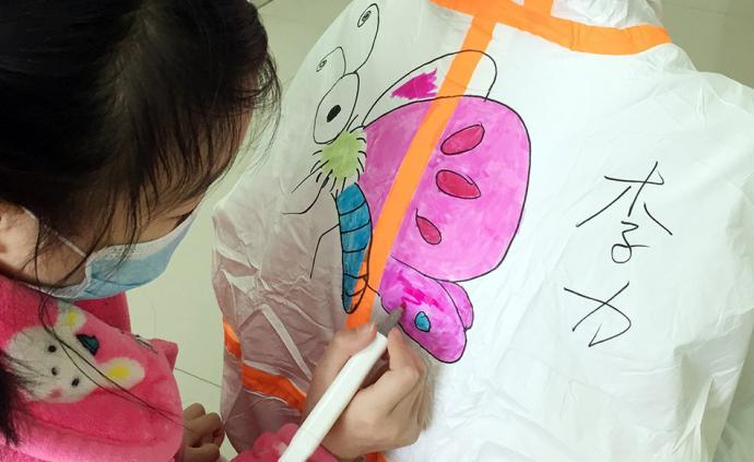 全民战疫|武汉:新冠肺炎儿童病房里的卡通世界