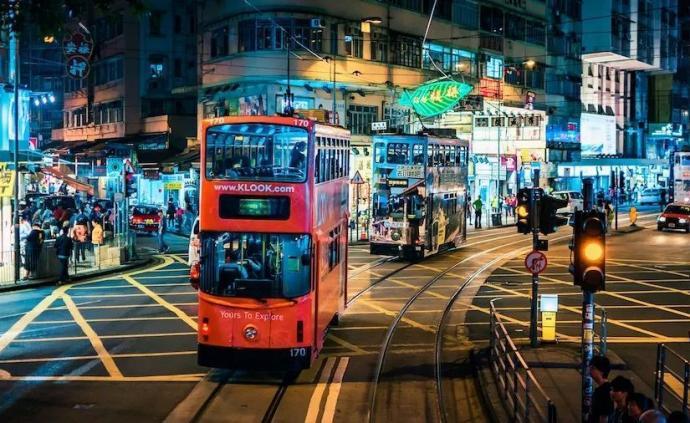 香港財政司司長預測今年香港經濟增長-1.5%至0.5%