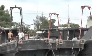 """汕头:台风""""玛娃""""逼近,渔船归港避风"""
