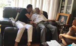 视频 被传去世的时候,89岁创业老人褚时健在家煮鱼