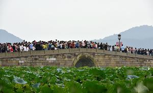 杭州黄金周接待外来游客超千万,到西湖的为何少了近两成?