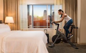离开跑步机,这些酒店让随时随地健身变为现实