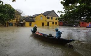 """强台风""""达维""""在越南导致至少27人死亡,20多人失踪"""