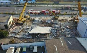 山西晋城二层房屋拆改时塌方:4名工人被困,仍在救援