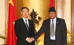大外交|印外长访尼后中国副总理到访:推动中尼关系深入发展