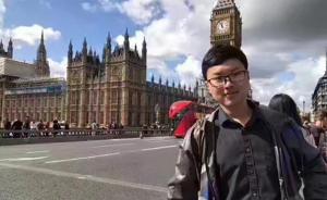 一中国留学生在英国爱丁堡失联,家人朋友急寻
