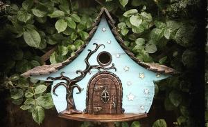 儿童创意木工课程走红,看了这组魔幻鸟窝,你心动了吗