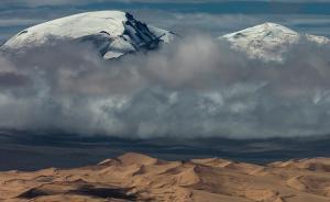 荒漠与雪山