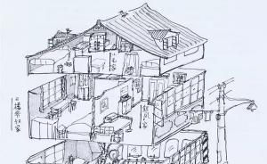 《繁花》之后作家金宇澄爱上插画,他将在上海图书馆办插画展