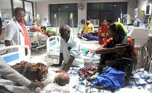 """印度""""断氧门""""医院:千余名儿童今年在该院死亡,脑炎患儿多"""