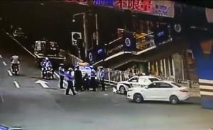 """兰州交警回应""""出租司机向交警下跪""""视频:司机以此阻挠执法"""