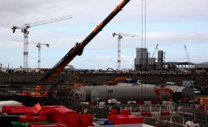 探访中国在欧首个核电项目:英国欣克利角核电站24小时施工