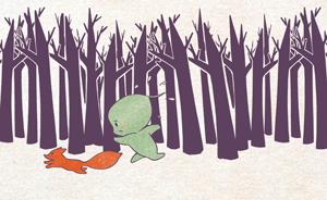 节气村的故事|芒种忙乱中发现紫森林深处的大秘密
