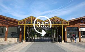 360°全景|大江奔流:昔日钢渣地变国家湿地公园